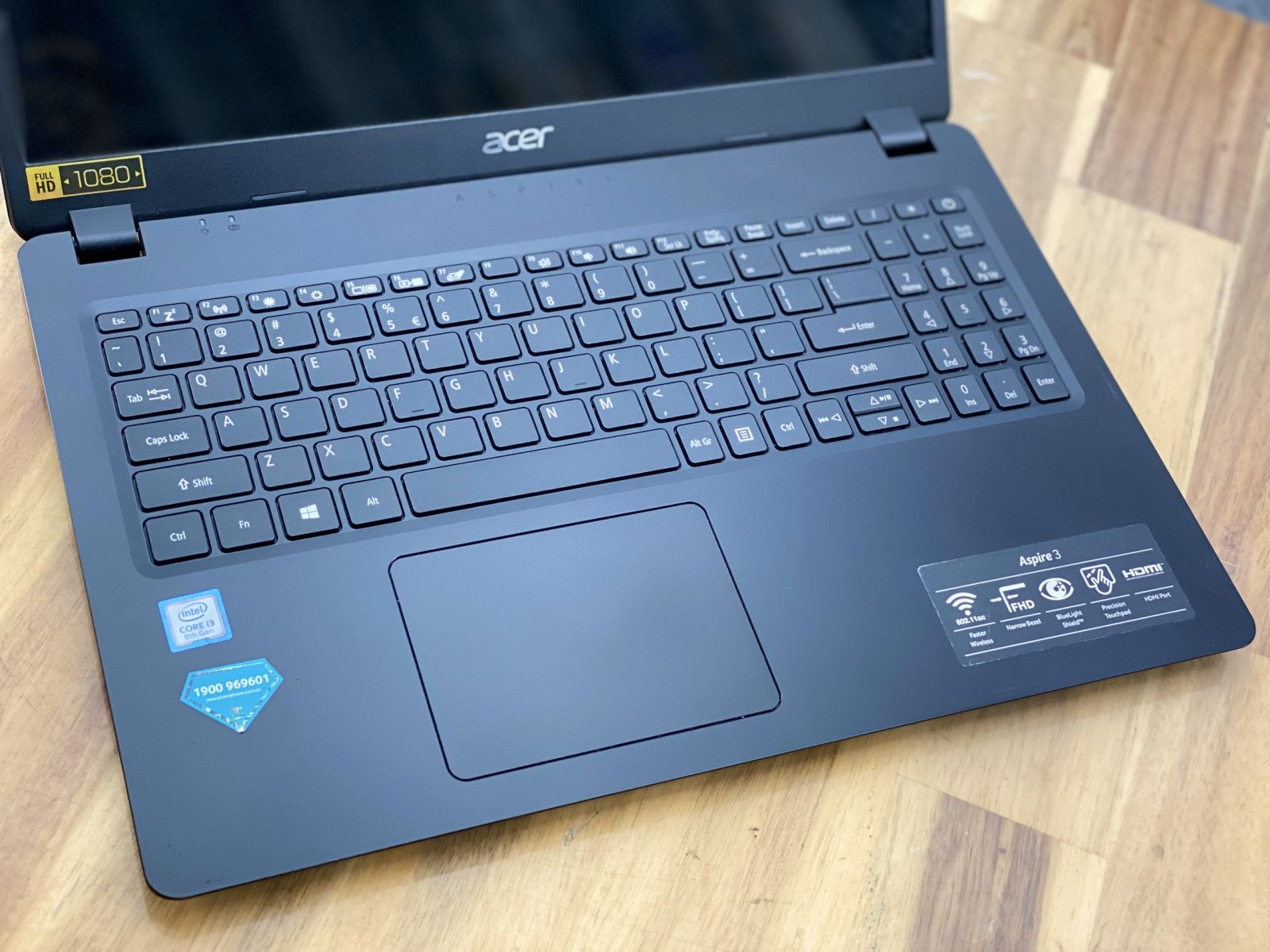Laptop Acer Aspire A315-54, i3 8145U 4G SSD256 Full HD Like new Full HD Giá rẻ6